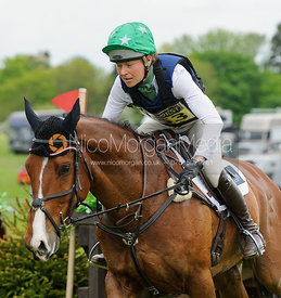 Kathryn Robinson and DUKE OF CHAMPION - Rockingham Castle International Horse Trials 2016
