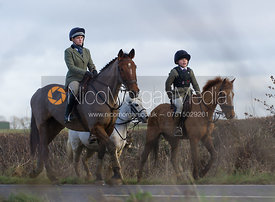 The Cottesmore Hunt meet at Pickwell Manor, Saturday 5th January 2013