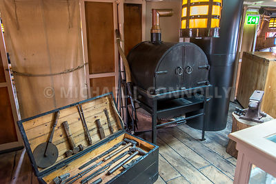 Blacksmith Shop, HMS Victory- Portsmouth, England