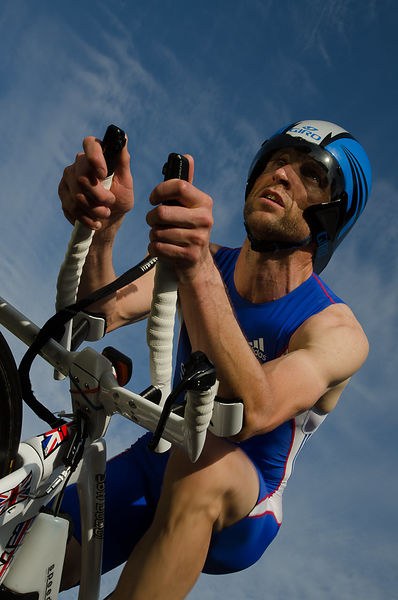 John Solomon - GBR qualified triathlete