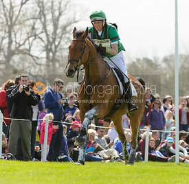 Mary King and Imperial Cavalier - Cross Country - Mitsubishi Motors Badminton Horse Trials 2013.