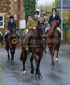 Hartley Crouch at the meet - The Cottesmore at Knossington 22/11
