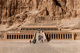 Mortuary temple of Queen  Hatshepsut.
