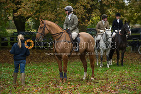 Holly Campbell - The Cottesmore Hunt meet in Somerby 6/11
