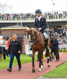 Jackie Potts, William Fox-Pitt and CHILLI MORNING - Champions Willberry Charity Flat Race - Cheltenham Racecourse, April 20th 2017