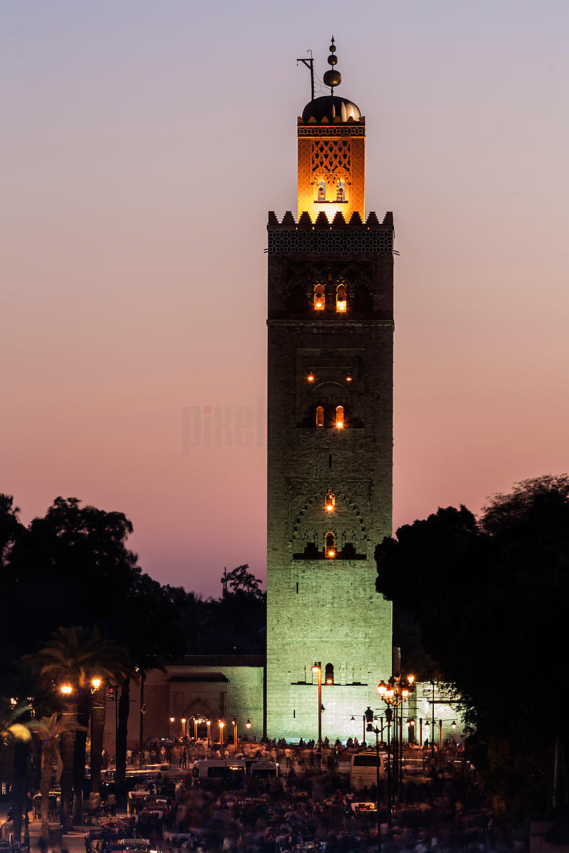 The Tower of the Main Mosque off the Main Square