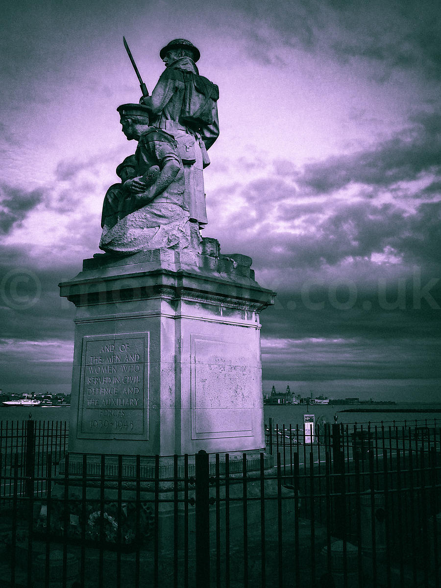 Guarding the Shores of Merseyside.