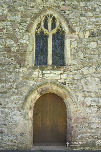 BEETHAM 05A - The west door of St Michael's Church