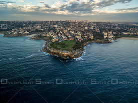 Tamarama Bay and Headland at Dawn Sydney Australia