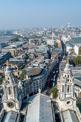 London Skyline From St. Paul's Cathedral