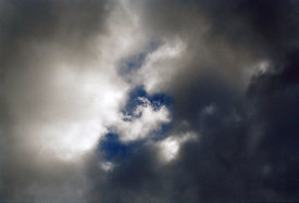 `Dark brooding sky