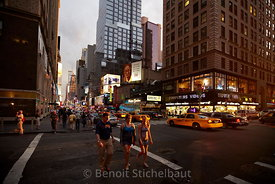 Etats-Unis, New-York, Manhattan, 7th Avenue