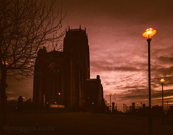 Evening Light at Liverpool Cathedral