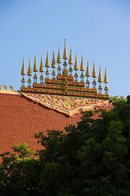 Ornate Temple rooftop