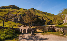 Dovedale and stepping stones