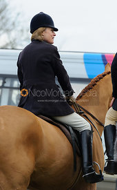 Vicky Westropp - The Cottesmore Hunt at Hill Top Farm 10/12/13