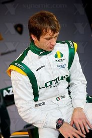Jarno Trulli (ITA), Lotus Cosworth T127 F1 Launch, Royal Horticultural Hall, London, GBR