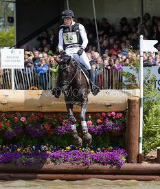 Kai-Steffen Meier and TSF KARASCADA M - Cross Country phase, Mitsubishi Motors Badminton Horse Trials 2014