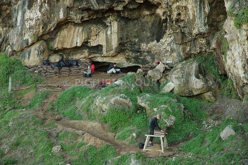 Blombos Cave photos