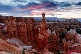 Dawn at Bryce Canyon National Park, Utah, USA