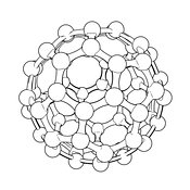 Buckminsterfullerene #18 Outline