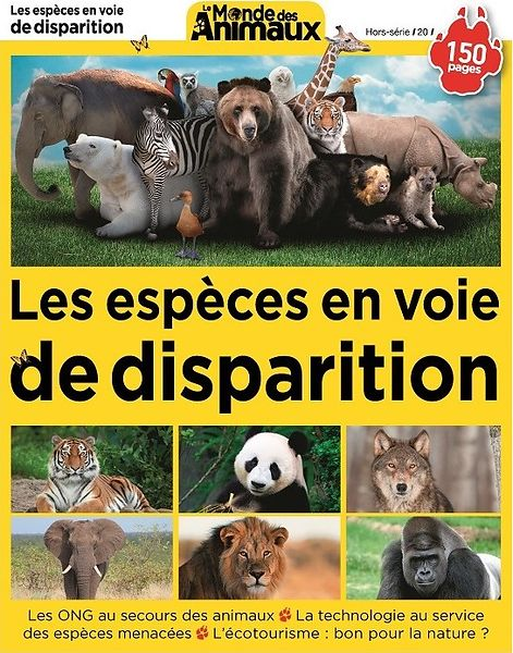 Special Issue 20 Le Monde des Animaux (France) - July 2018 photos