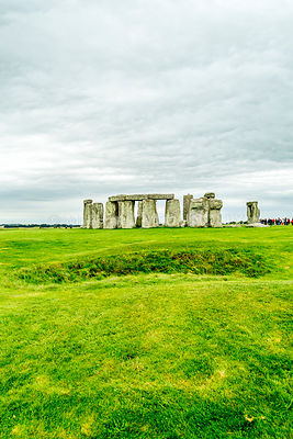 "Stonehenge From ""The Avenue""- Wiltshire, England"