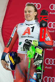 Schladming, Austria, 23.1.2018, Sport, Wintersport, Nightrace Schladming. Bild zeigt KRISTOFFERSEN Henrik (NOR)...23/01/18, Schladming, Austria, Sport, winter sport, Nightrace Schladming. Image shows KRISTOFFERSEN Henrik (NOR).