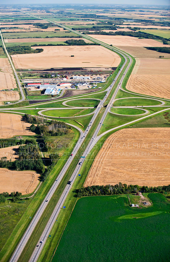 Cloverleaf Interchange, Aerial Photo