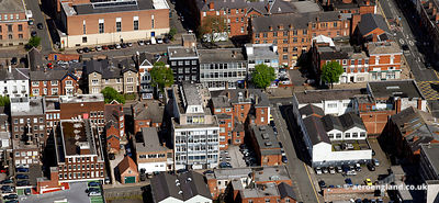 aerial photograph of Waterloo Rd.Wolverhampton, West Midlands WV1 4BL UK