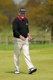 Mike Williams playing in The Handa Senior Masters Golf, Stapleford Park