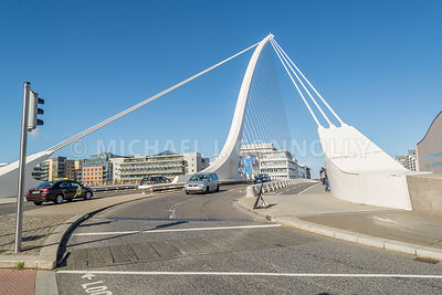Samuel Beckett Bridge, Roadway (Horizontal)- Dublin, Ireland