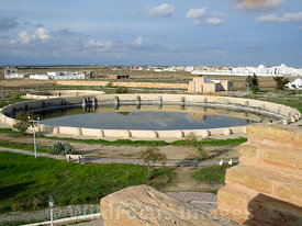 The Aghlabid Basins. Kairouan, Tunisia; Landscape