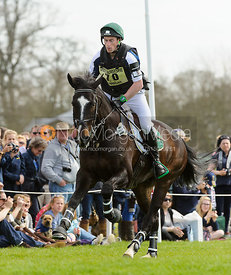 Peter Hannigan and FIRST MATE - Cross Country - Mitsubishi Motors Badminton Horse Trials 2013.