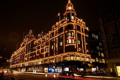 The world Famous Harrods Department Store