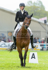 Lucy Jackson and WILLY DO - Dressage phase, Mitsubishi Motors Badminton Horse Trials 2014