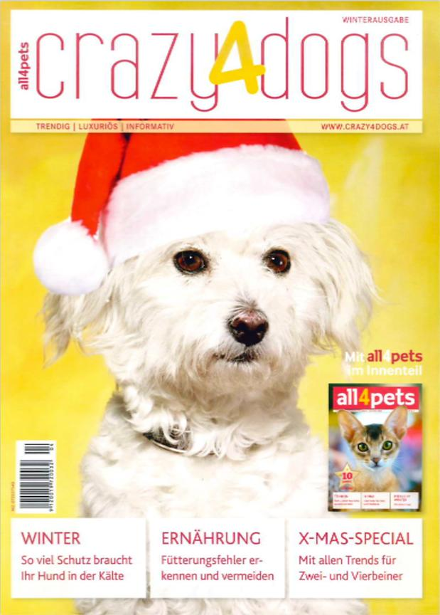 Crazy4Dogs Magazine (Autriche) - Déc 2017 photos