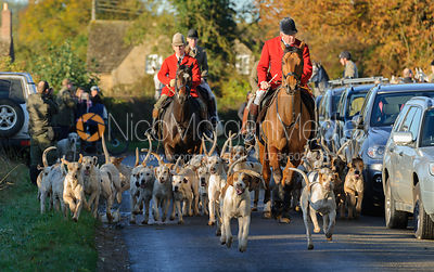 The Cottesmore Hunt Newcomers Meet 25/10 photos