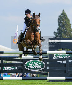 Hannah Bate and FINBURY HILL - show jumping phase, Burghley Horse Trials 2014.