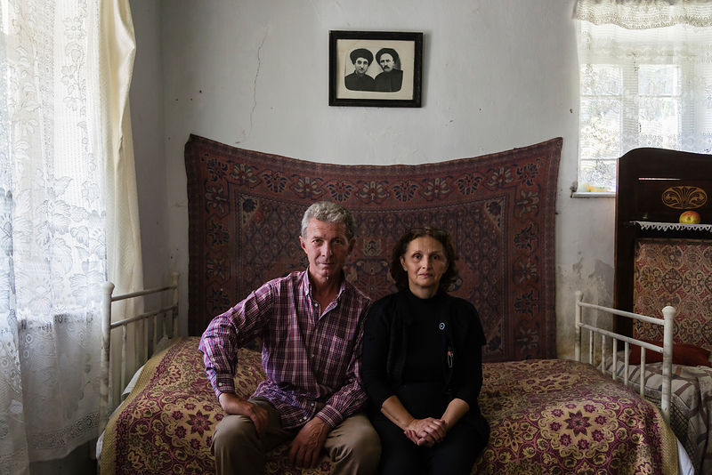 Jimsher Tsiklauri and his Wife