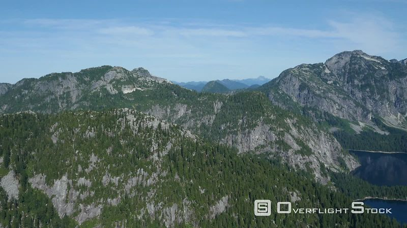 Mountains of Golden Ears Park. BC Canada