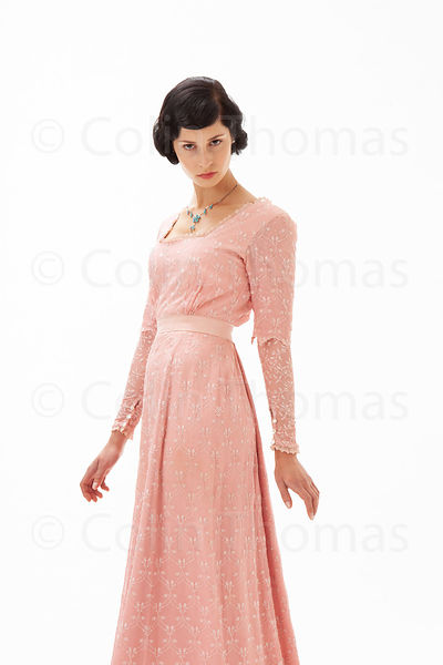 1930's aristocratic woman in pink photos