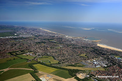 aerial photograph of Great Yarmouth