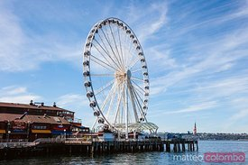 Seattle Great Wheel, Seattle, USA