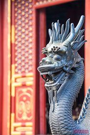 Ancient decorations in the summer palace of Beijing, China