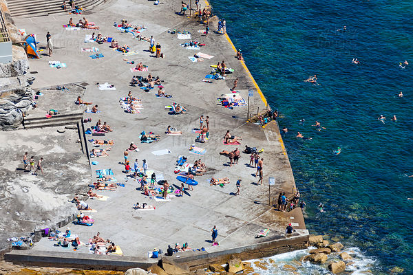 Clovelly Concrete Beach