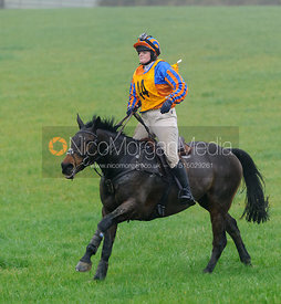 Kelly Morgan - Melton Hunt Club Ride 2014