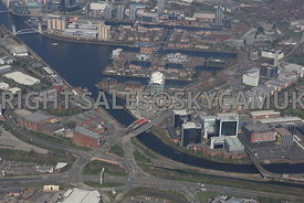 Manchester White City Circle and Exchange Quay and Salford Quays Salford