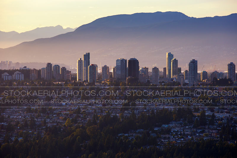 Metrotown Burnaby Skyline