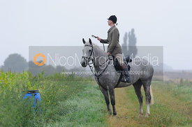 The Cottesmore Hunt at Tongue End 28/8
